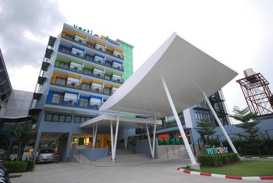 Samui Verticolor: Hotel Entrance