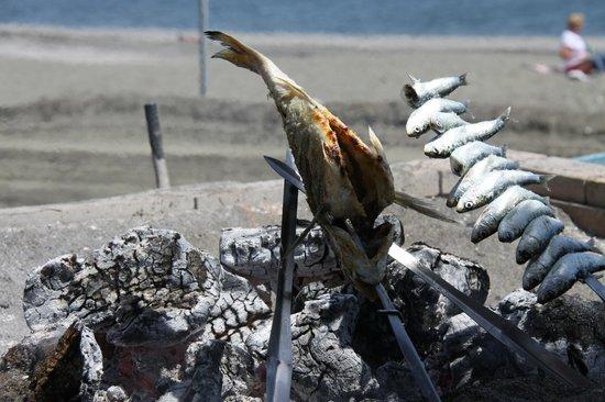 El Destino: heerlijke verse vis op het strand van Torre del Mar