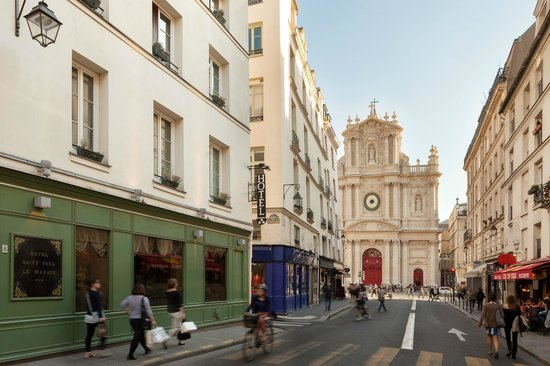 Hotel saint paul le marais prices reviews paris for Hotel marais paris