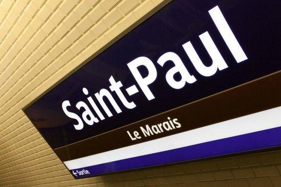 Hotel Saint Paul Le Marais: In the heart of Paris, 100 meters from the Metro Saint-Paul Le Marais
