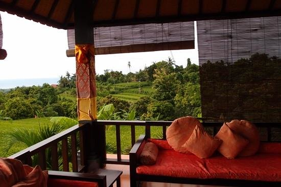 Puri Mangga Sea View Resort & Spa: vue depuis lobby
