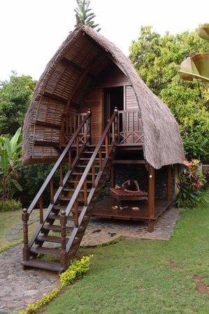 Puri Mangga Sea View Resort & Spa: lumbung room
