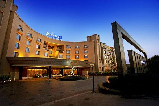 Radisson Blu Plaza Delhi: Entrance