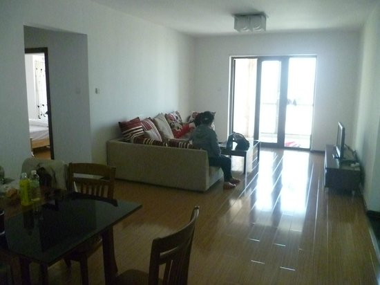 IC Holiday Shun Cheng Serviced Apartments : Living room