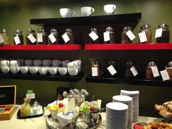 Stromstad Spa: Breakfast tea selection
