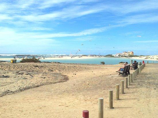 Lagunas y Playa de El Cotillo: El Cotillo Beach & Lagoons