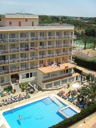 Don Miguel Playa Hotel: Blick auf unser Haus