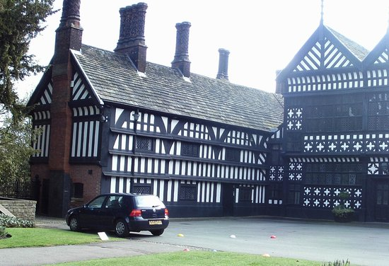 Bramhall, UK: Bramall Hall (and a VW Golf just like mine, which amused us as it was parked like it belongs the