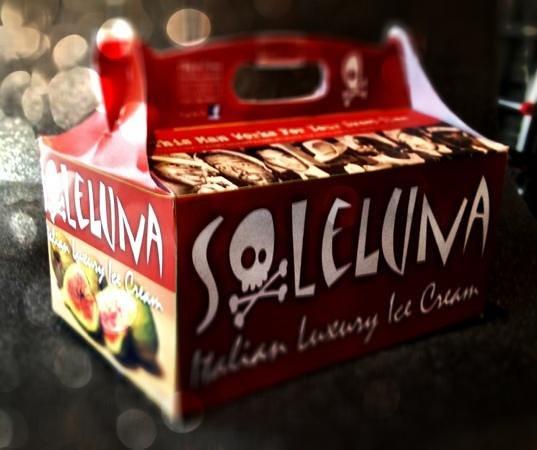 Gelateria Soleluna : ice box SOLELUNA