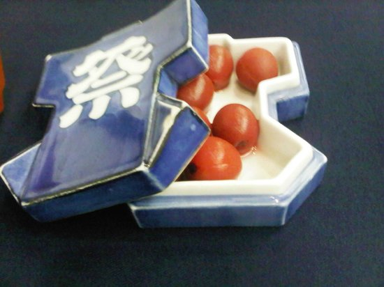 Sukeroku No Yado Sadachiyo : sour plum pickles