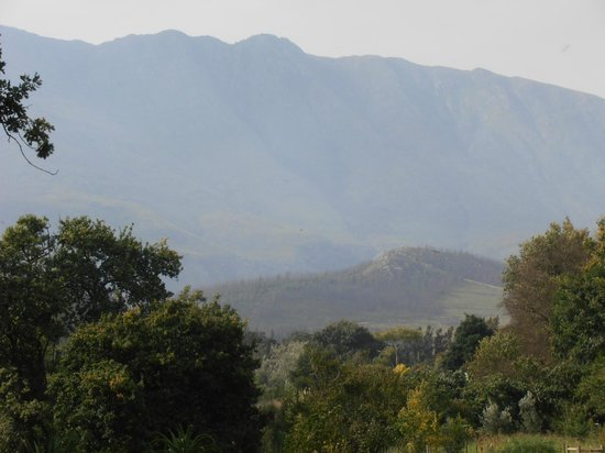 Augusta de Mist Country House: View of surrounding landscape of Swellendam