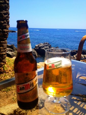 Bar Cala Banys : Drinks with a view