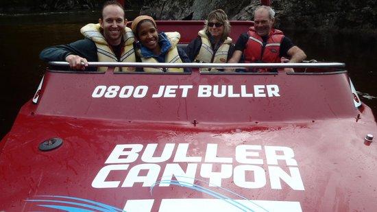 Buller Canyon Jet: buller jet boat fun