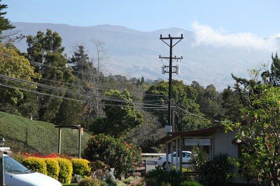 The Kula Lodge: ハレアカラ山頂を臨む