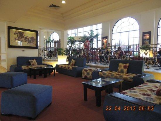 Dessole Seti Sharm Resort: Lobby Area