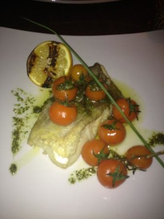 The Bective: Cod with vine tomatoes