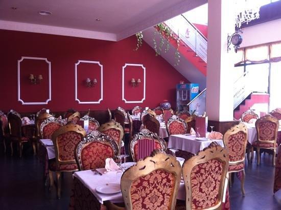 Indian Ocean Restaurant: inside