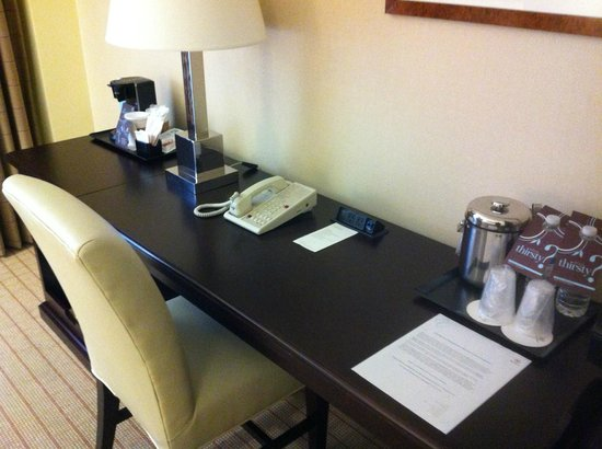 Sheraton Raleigh Hotel: Working area