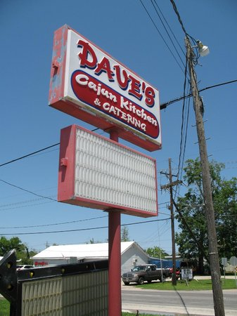 Dave's Cajun Kitchen: Daves Sign
