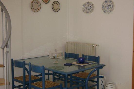 B&B Villa Mediterranee: spazio breakfast