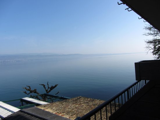 Hotel Restaurant du Port: vue de la chambre