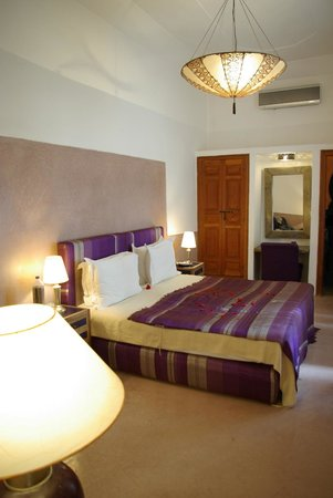 Riad l'Orangeraie: 'Curcuma' room