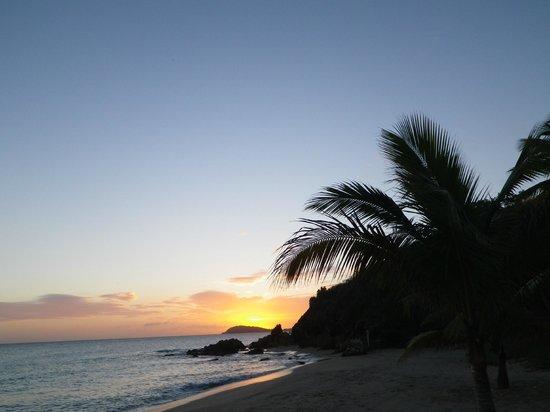 Bluebeard's Beach: Sunset