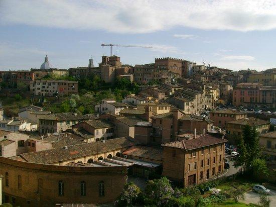 Hotel Minerva: Vista dal terrazzino