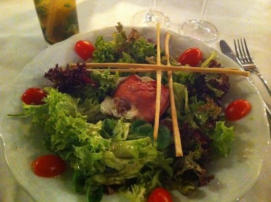 St. Antonio: salade mozzarella et jambon italien