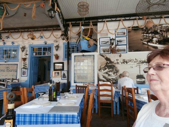 Restaurante Dona Barca: interior