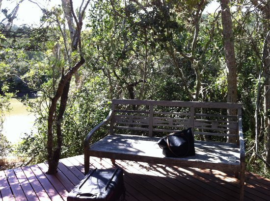 Sibuya Game Reserve & Tented Camp: Our terrace