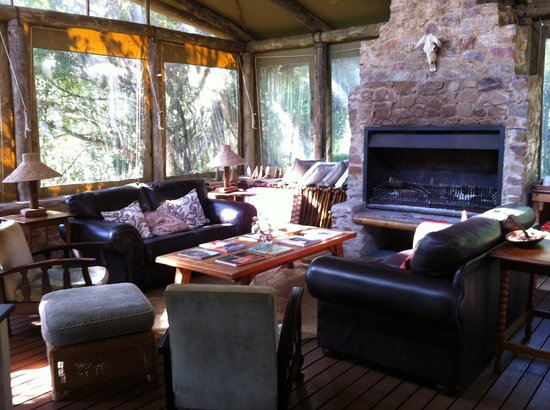 Sibuya Game Reserve & Tented Camp: the lounge