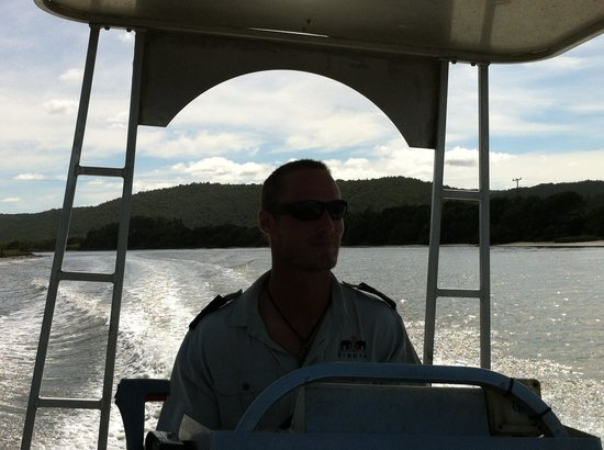 Sibuya Game Reserve & Tented Camp : Our ranger and driver