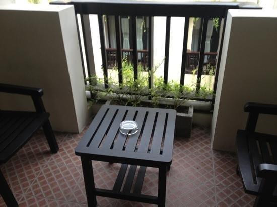 Losari Hotel & Villas: balcony