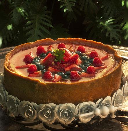 Fraiche Ayres: Home baked Cheesecake !