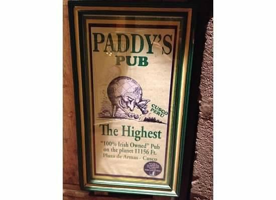 Paddy's Irish Pub: Paddy's Pub