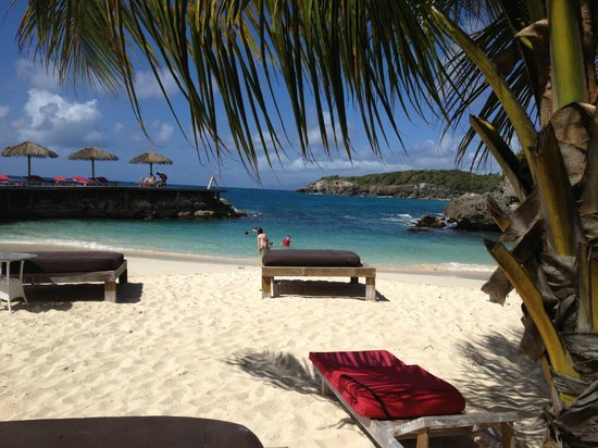 La Toubana Hotel & Spa: plage privée