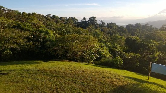 San Gerardo Biological Station: view from the cabin