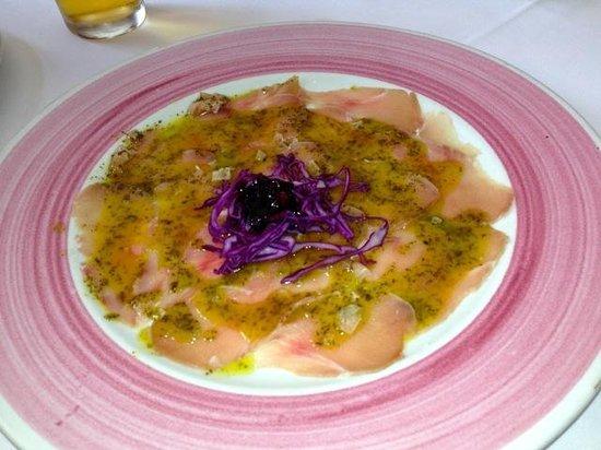 Restaurante Casa Jose Maria: Carpaccio de Atun