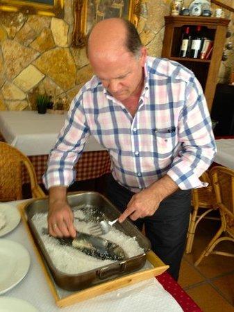 Restaurante Casa Jose Maria: Maestro mismo Jose Maria