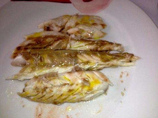 Restaurante Casa Jose Maria: Lubina abajo de sal en horno