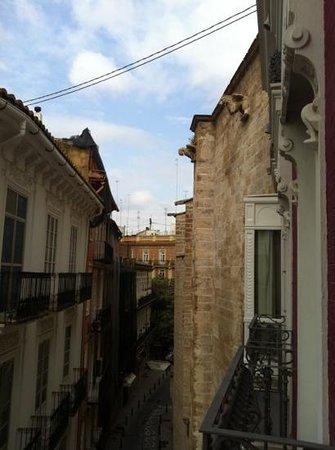 Petit Palace Plaza de la Reina: vista dalla stanza