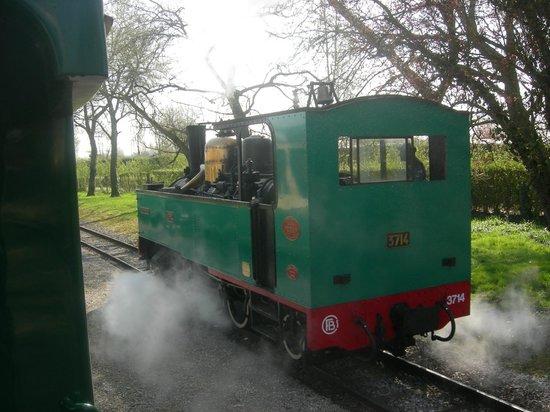 Résidence Odalys Les Villas de la Baie : train à vapeur du crotoy