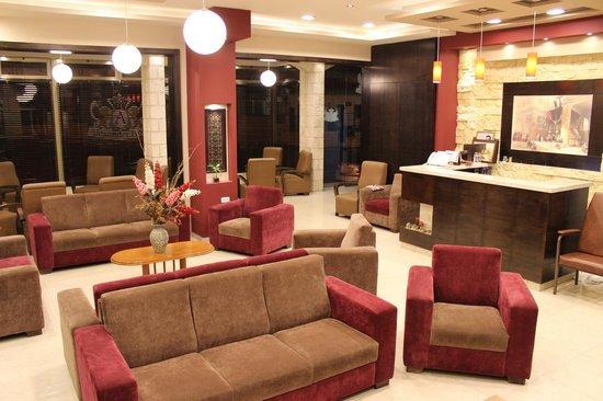 Alexander Hotel : the new lobby