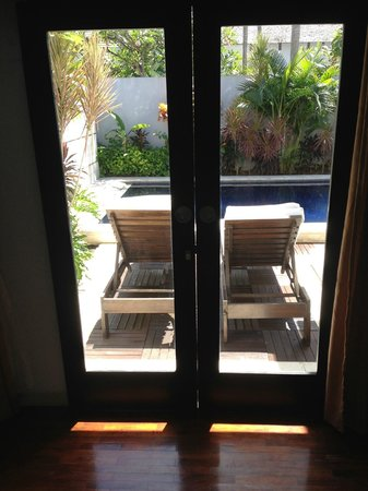 The Seminyak Suite Private Villa: View from Room 1