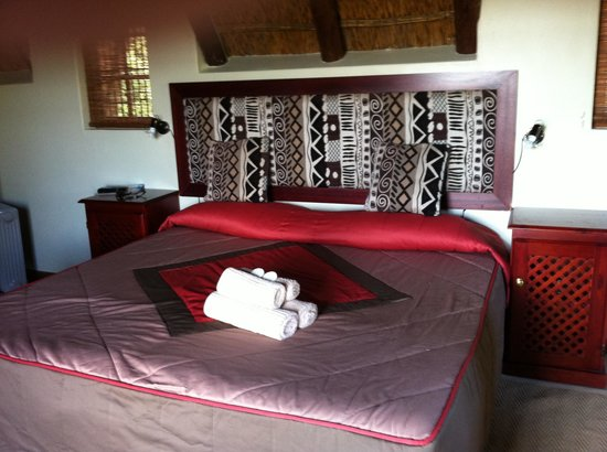 Addo Rest Camp: our room