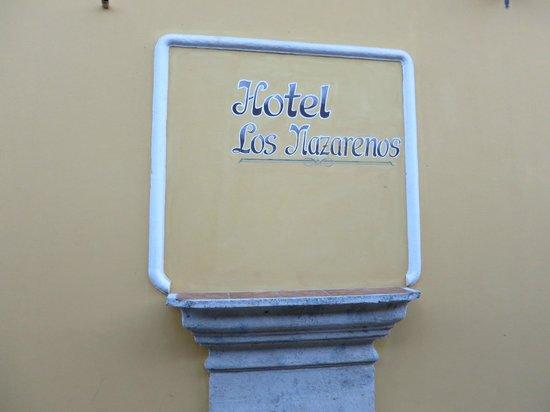 Hotel Los Nazarenos: Hotel
