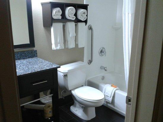 La Quinta Inn & Suites San Diego Mission Bay: Bathroom