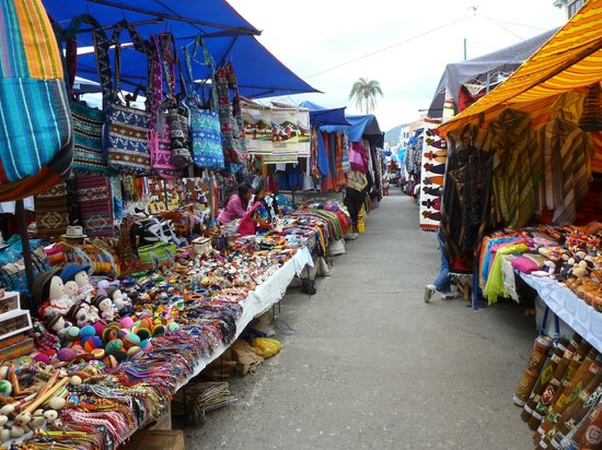 Sat handicrafts market - heaven! - Picture of Otavalo Market ...