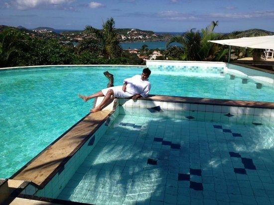 Tropico de Capricornio: hotel swimming pool and me